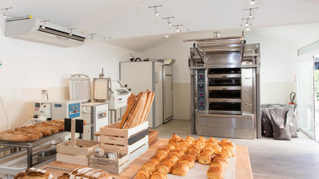 photo de pain de la farine label rouge